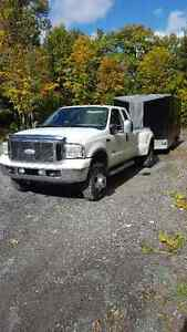 2006 Ford F350 XLT Dually 4X4 Diesel and VNose Trailor Gatineau Ottawa / Gatineau Area image 1