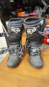 Youth moto cross boots
