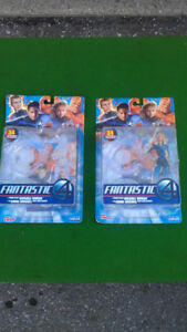 Toy Biz Fantastic 4 Invisible Woman Action Figures (2005)