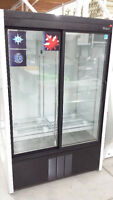 Double glass door cooler  Restaurant Bakery Deli Food Equipment