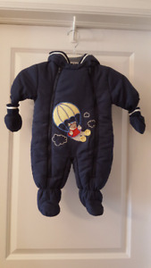 Boy's 1-Piece Snowsuit - 3 Months - New with Tags