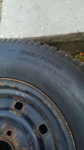 Used winter tires and rims Kitchener / Waterloo Kitchener Area image 2