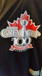 Brand New CFL 100th Anniversary Grey Cup Jersey - Size Large