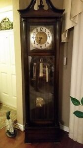 """Vintage Early 1960's """"Mauthe"""" Grandfather Clock"""