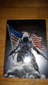 Assassin's creed 3 steel case