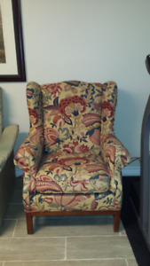 Flower Painted arm chair