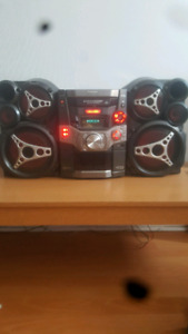 Tri-Amp System/CD Stereo System
