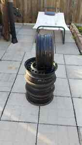 Four GM Steel Rims for Sale!