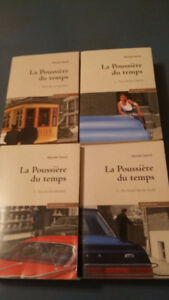 4 X LIVRES _ A L'OMBRE DU CLOCHER _ MICHEL DAVID