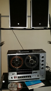 REEL TO REEL TAPE RECORDER & PLAYER $800.00