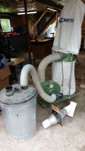 Craftex Dust Collector System