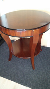 round table - end table - accent table