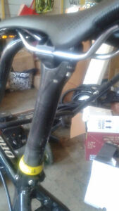 EASTON CARBON SEATPOST and SPECIALIZED SADDLE