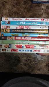 Comedy Movies $2 Each