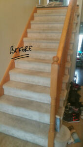 SALE SALE BLOWOUT SALE ON STAIRS CARPET
