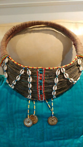 African Samburu Collar Maasai Kenya Wedding Necklace