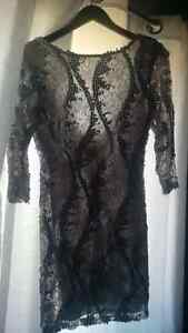 never worn still has tag silver sequence dress