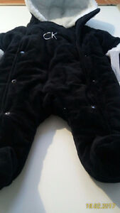 NEW Calvin Klein 0-6m Boy Winter Suit!