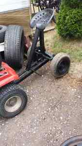 Sulky... for towing behind lawn tractor..$95.00 London Ontario image 3