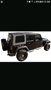 4 Door Jeep Factory Soft Top