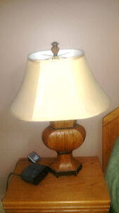 2 Decorative Leather  Like Lamps