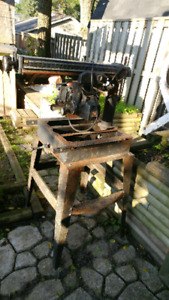 Radial Craftsman Table saw