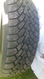 205 65/R15 winter and summer tires