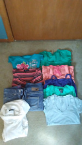 Lot of clothes and jackets