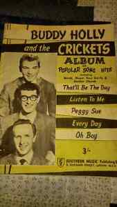 Buddy Holly and the Crickets Music Book