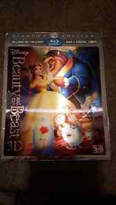 Beauty and the Beast 3D w/ Lenticular Slip Cover