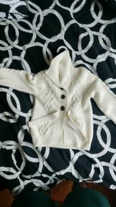 NEW Joe Fresh 18-24 100% cotton girl sweater