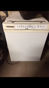 Dishwasher, works great. Was upgraded and not needed