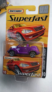 MATCHBOX SUPERFAST NO 10 CHRYSLER PT CRUISER PURPLE  NIB