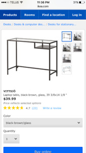 Brand new IKEA entry way/console table of computer table