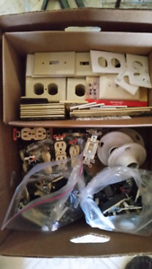 Electrical supplies switches and Outlets