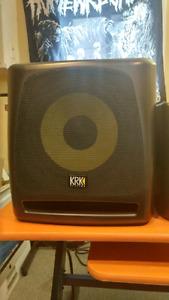 KRK Rokit 10S studio sub