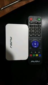 Avov Android box its all movies and tv shows and live tv