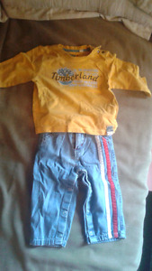 12-24 months Tommy Hilfiger Timberland BOSTON BRUINS CLOTHES