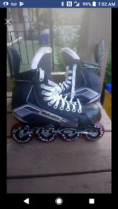 Like new Bauer Roller blades size 8-8.5
