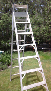 8ft aluminum step ladders