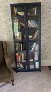 Ikea Billy Bookcase Navy Blue
