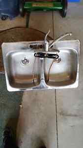 Sink and Faucet ( Kitchen)