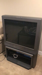 Free SONY TV with TV stand