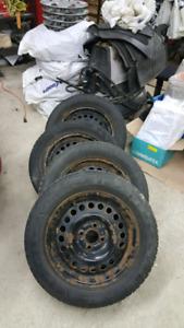 190/60/15 pneu d'hiver