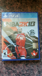 NBA 2K18 New in factory seal PS4
