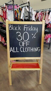 Black Friday Sale!  All Clothing 30% Off! London Ontario image 1