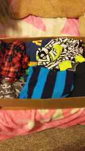 Assorted box of 4T boys clothing