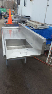 Stainless Counter with sink$500.00