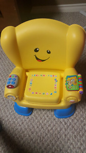$5 ~ Fisher Price Laugh & Learn Smart Stages chair