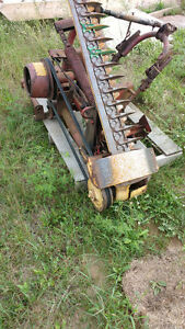 NH sickle mower